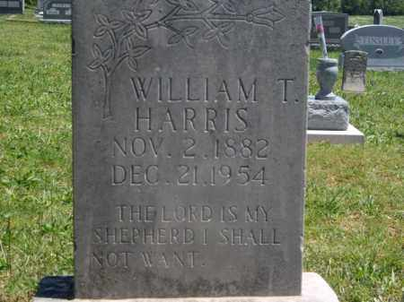 HARRIS, WILLIAM T. - Boone County, Arkansas | WILLIAM T. HARRIS - Arkansas Gravestone Photos