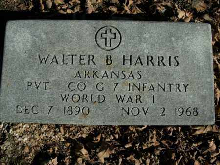 HARRIS  (VETERAN WWI), WALTER B - Boone County, Arkansas | WALTER B HARRIS  (VETERAN WWI) - Arkansas Gravestone Photos