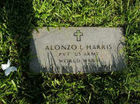 HARRIS  (VETERAN WWII), ALONZO L. - Boone County, Arkansas | ALONZO L. HARRIS  (VETERAN WWII) - Arkansas Gravestone Photos