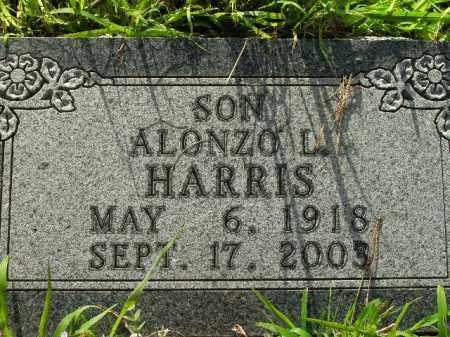 HARRIS, ALONZO L. - Boone County, Arkansas | ALONZO L. HARRIS - Arkansas Gravestone Photos