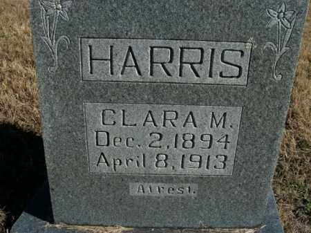 HARRIS, CLARA M. - Boone County, Arkansas | CLARA M. HARRIS - Arkansas Gravestone Photos