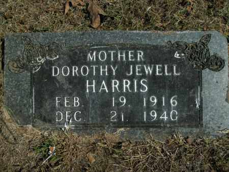 HARRIS, DOROTHY JEWELL - Boone County, Arkansas | DOROTHY JEWELL HARRIS - Arkansas Gravestone Photos