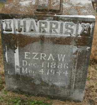 HARRIS, EZRA W. - Boone County, Arkansas | EZRA W. HARRIS - Arkansas Gravestone Photos