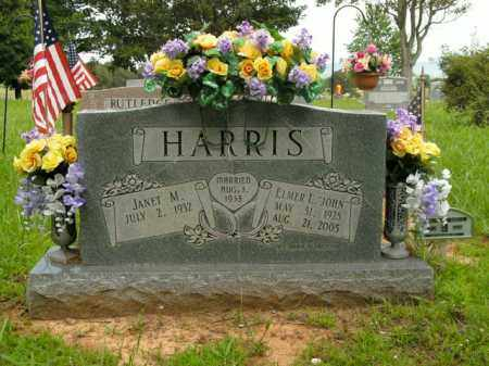 "HARRIS, ELMER L. ""JOHN"" - Boone County, Arkansas 