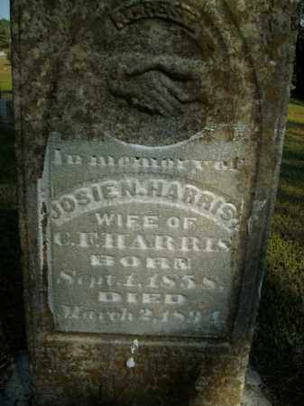 HARRIS, JOSIE N. - Boone County, Arkansas | JOSIE N. HARRIS - Arkansas Gravestone Photos