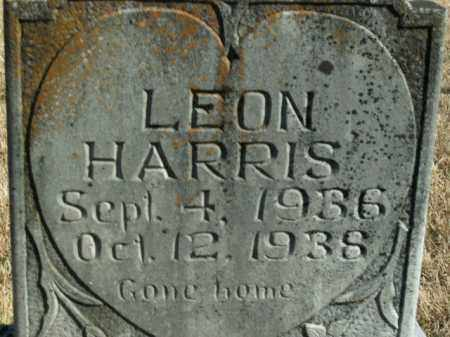 HARRIS, LEON - Boone County, Arkansas | LEON HARRIS - Arkansas Gravestone Photos