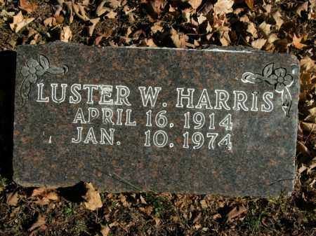 HARRIS, LUSTER W. - Boone County, Arkansas | LUSTER W. HARRIS - Arkansas Gravestone Photos