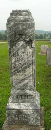 HARRIS, MARTHA - Boone County, Arkansas | MARTHA HARRIS - Arkansas Gravestone Photos