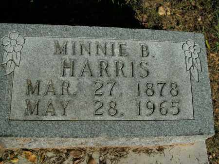 HARRIS, MINNIE B. - Boone County, Arkansas | MINNIE B. HARRIS - Arkansas Gravestone Photos