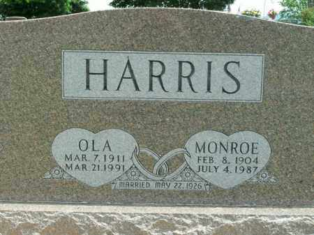 HARRIS, OLA - Boone County, Arkansas | OLA HARRIS - Arkansas Gravestone Photos