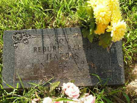 HARRIS, REBURN RALPH - Boone County, Arkansas | REBURN RALPH HARRIS - Arkansas Gravestone Photos