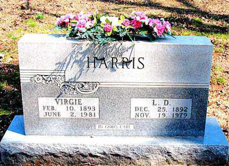 HARRIS, VIRGIE IONA - Boone County, Arkansas | VIRGIE IONA HARRIS - Arkansas Gravestone Photos