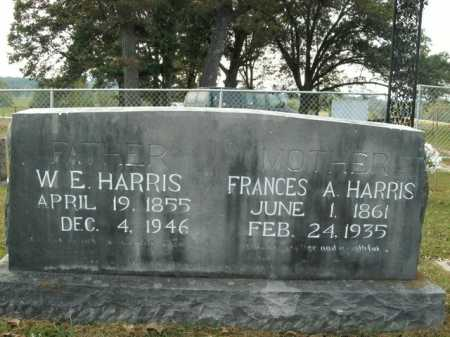 HARRIS, W. E. - Boone County, Arkansas | W. E. HARRIS - Arkansas Gravestone Photos