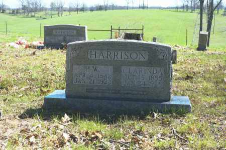 RUBLE HARRISON, CLARINDA ALLISON - Boone County, Arkansas | CLARINDA ALLISON RUBLE HARRISON - Arkansas Gravestone Photos