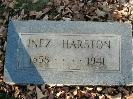 HARSTON, INEZ - Boone County, Arkansas | INEZ HARSTON - Arkansas Gravestone Photos