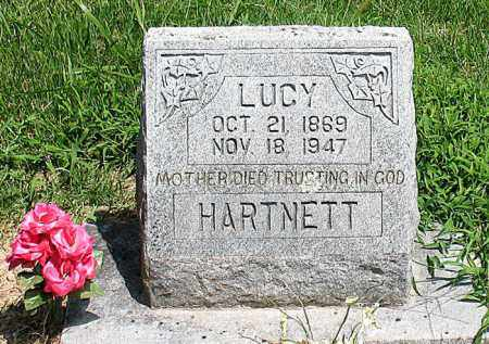 HARTNETT, LUCY - Boone County, Arkansas | LUCY HARTNETT - Arkansas Gravestone Photos