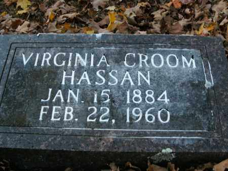 HASSAN, VIRGINIA - Boone County, Arkansas | VIRGINIA HASSAN - Arkansas Gravestone Photos