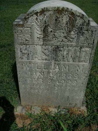 HASTING, WILLIAM M. - Boone County, Arkansas | WILLIAM M. HASTING - Arkansas Gravestone Photos
