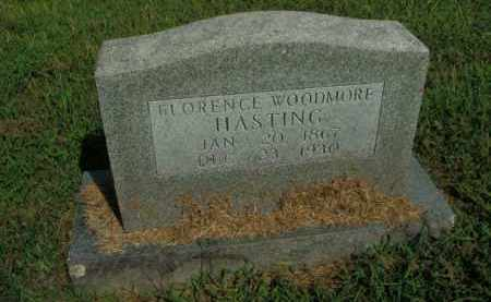 HASTING, FLORENCE WOODMORE - Boone County, Arkansas | FLORENCE WOODMORE HASTING - Arkansas Gravestone Photos