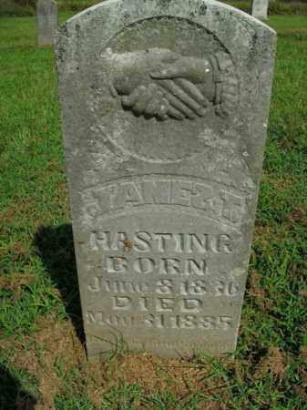 HASTING, JAMES T. - Boone County, Arkansas | JAMES T. HASTING - Arkansas Gravestone Photos