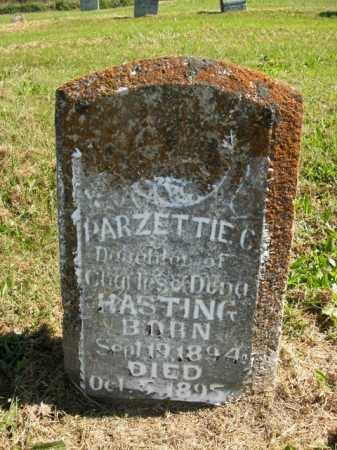 HASTING, PARZETTIE C. - Boone County, Arkansas | PARZETTIE C. HASTING - Arkansas Gravestone Photos