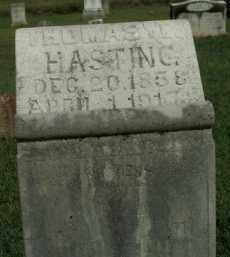 HASTING, THOMAS W. - Boone County, Arkansas | THOMAS W. HASTING - Arkansas Gravestone Photos