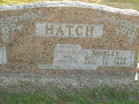 HATCH, SHIRLEY - Boone County, Arkansas | SHIRLEY HATCH - Arkansas Gravestone Photos
