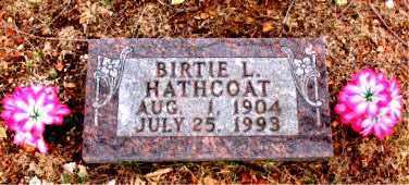 HATHCOAT, BIRTIE  L. - Boone County, Arkansas | BIRTIE  L. HATHCOAT - Arkansas Gravestone Photos