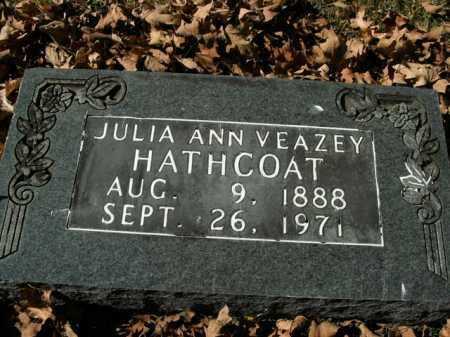 HATHCOAT, JULIA ANN - Boone County, Arkansas | JULIA ANN HATHCOAT - Arkansas Gravestone Photos