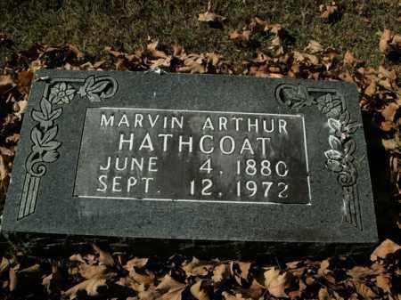 HATHCOAT, MARVIN ARTHUR - Boone County, Arkansas | MARVIN ARTHUR HATHCOAT - Arkansas Gravestone Photos