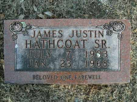 HATHCOAT, SR, JAMES JUSTIN - Boone County, Arkansas | JAMES JUSTIN HATHCOAT, SR - Arkansas Gravestone Photos