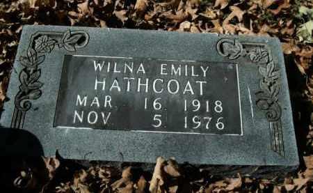 HATHCOAT, WILNA EMILY - Boone County, Arkansas | WILNA EMILY HATHCOAT - Arkansas Gravestone Photos