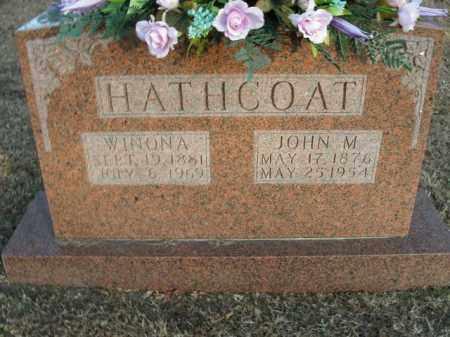 HATHCOAT, JOHN MATTHEW - Boone County, Arkansas | JOHN MATTHEW HATHCOAT - Arkansas Gravestone Photos