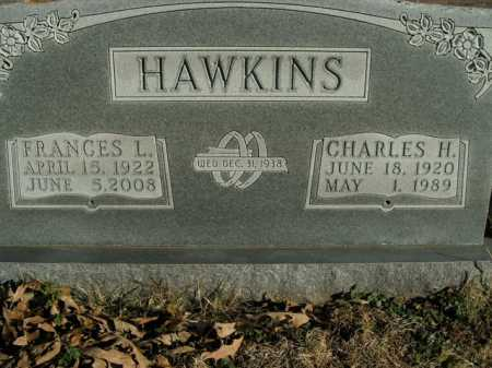 BACCHUS HAWKINS, FRANCES L. - Boone County, Arkansas | FRANCES L. BACCHUS HAWKINS - Arkansas Gravestone Photos