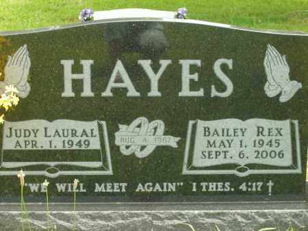HAYES, BAILEY REX - Boone County, Arkansas | BAILEY REX HAYES - Arkansas Gravestone Photos
