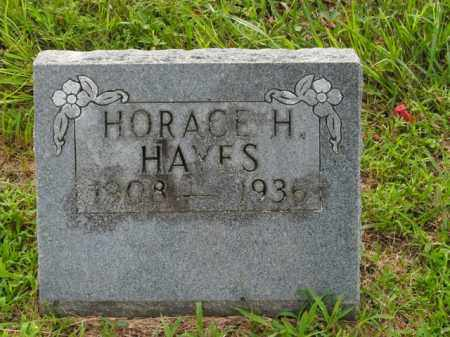 HAYES, HORACE H. - Boone County, Arkansas | HORACE H. HAYES - Arkansas Gravestone Photos