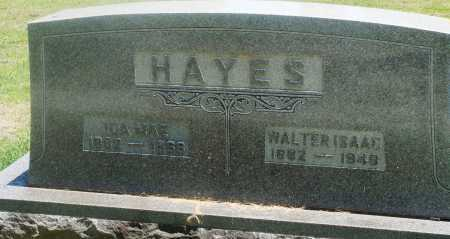 HAYES, WALTER ISAAC - Boone County, Arkansas | WALTER ISAAC HAYES - Arkansas Gravestone Photos