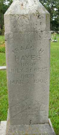 HAYES, ISAAC H. - Boone County, Arkansas | ISAAC H. HAYES - Arkansas Gravestone Photos