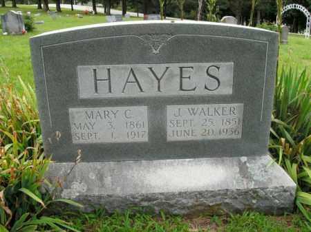 HAYES, J. WALKER - Boone County, Arkansas | J. WALKER HAYES - Arkansas Gravestone Photos
