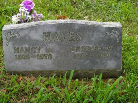 HAYES, GEORGE W. - Boone County, Arkansas | GEORGE W. HAYES - Arkansas Gravestone Photos