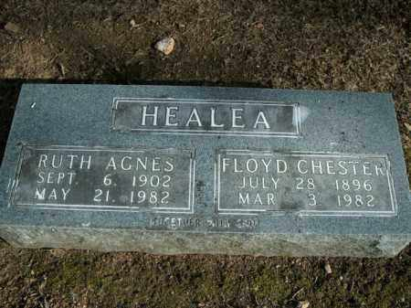 HEALEA, RUTH AGNES - Boone County, Arkansas | RUTH AGNES HEALEA - Arkansas Gravestone Photos