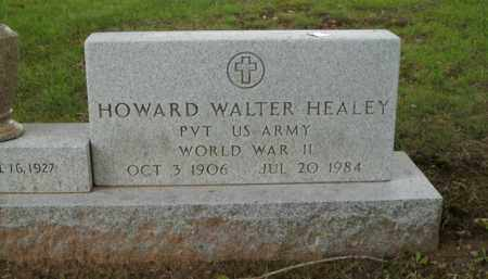 HEALEY  (VETERAN WWII), HOWARD WALTER - Boone County, Arkansas | HOWARD WALTER HEALEY  (VETERAN WWII) - Arkansas Gravestone Photos
