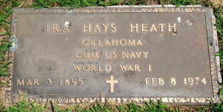 HEATH (VETERAN WWI), IRA HAYS - Boone County, Arkansas | IRA HAYS HEATH (VETERAN WWI) - Arkansas Gravestone Photos