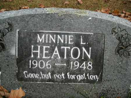 HEATON, MINNIE L. - Boone County, Arkansas | MINNIE L. HEATON - Arkansas Gravestone Photos