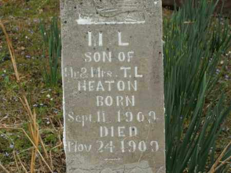 HEATON, M.L. - Boone County, Arkansas | M.L. HEATON - Arkansas Gravestone Photos
