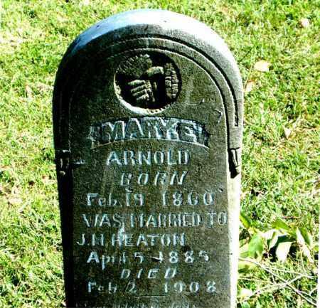 HEATON, MARY  E. - Boone County, Arkansas | MARY  E. HEATON - Arkansas Gravestone Photos