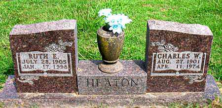 HEATON, CHARLES W. - Boone County, Arkansas | CHARLES W. HEATON - Arkansas Gravestone Photos