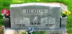HEATON, VIVIAN V. - Boone County, Arkansas | VIVIAN V. HEATON - Arkansas Gravestone Photos