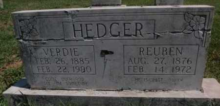 HEDGER, VERDIE - Boone County, Arkansas | VERDIE HEDGER - Arkansas Gravestone Photos