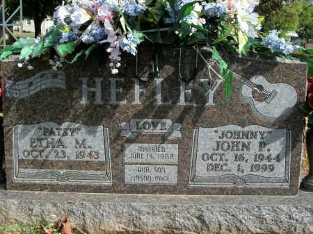 HEFLEY, JOHN P. - Boone County, Arkansas | JOHN P. HEFLEY - Arkansas Gravestone Photos